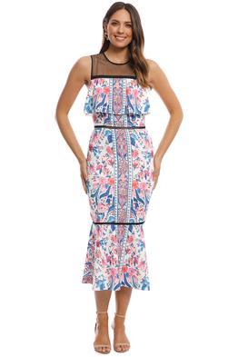 Elliatt - Siena Dress - Print - Front
