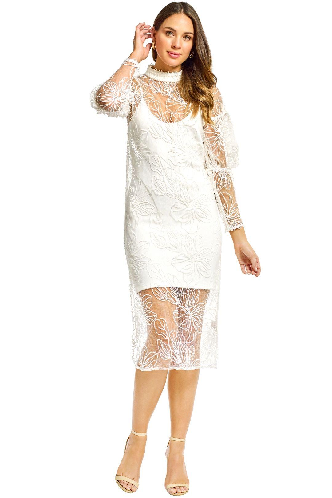 Elliatt - South Dress - White - Front