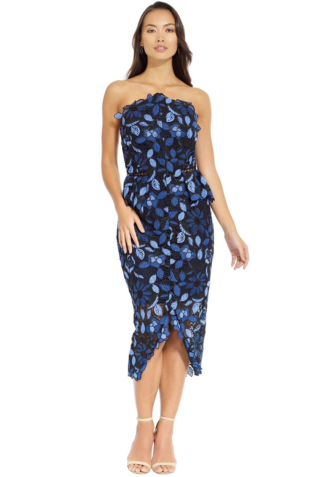 Elliatt - Times Dress - Blue Multi - Front