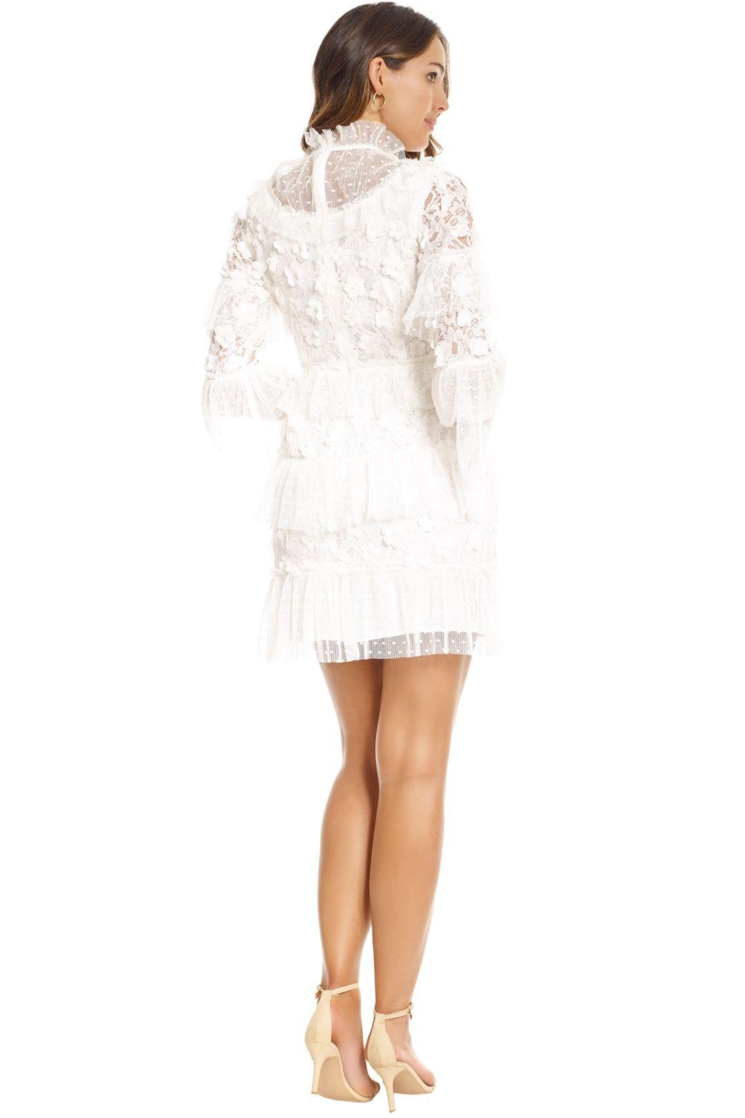 Elliatt - Titania Dress - White - Back