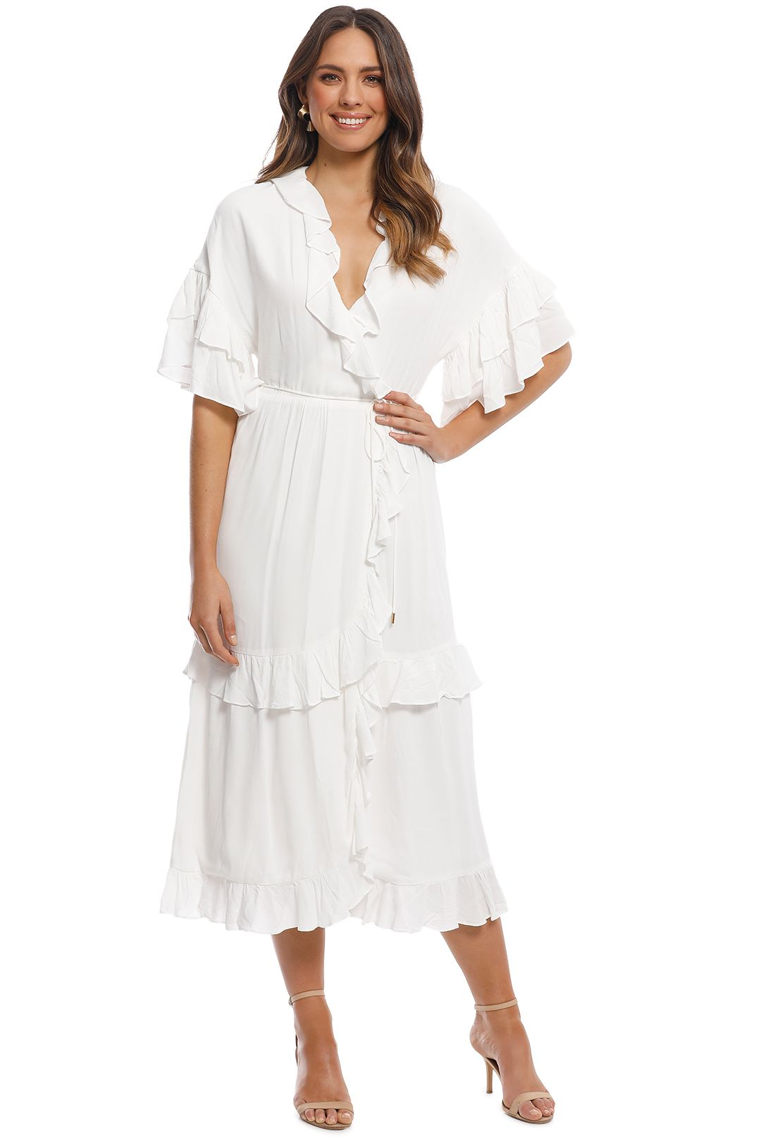 Elliatt - Vino Dress - White - Front