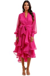 Elliatt Cuba Dress Orchid Ruffles Tier Skirt