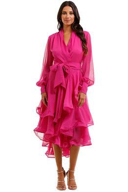 Elliatt Cuba Dress Orchid Ruffles Tier Skirt