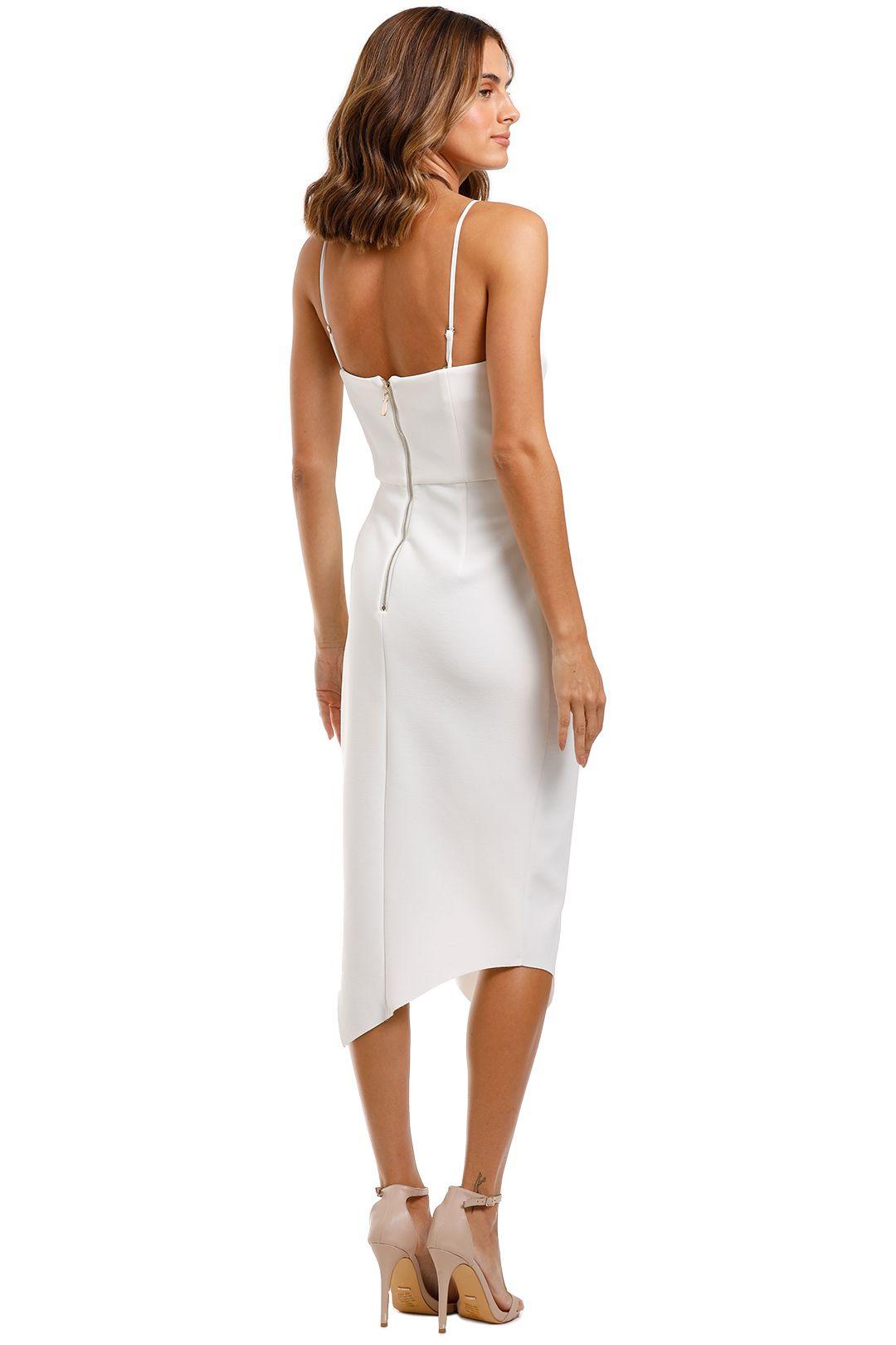 Elliatt Landscape Dress White