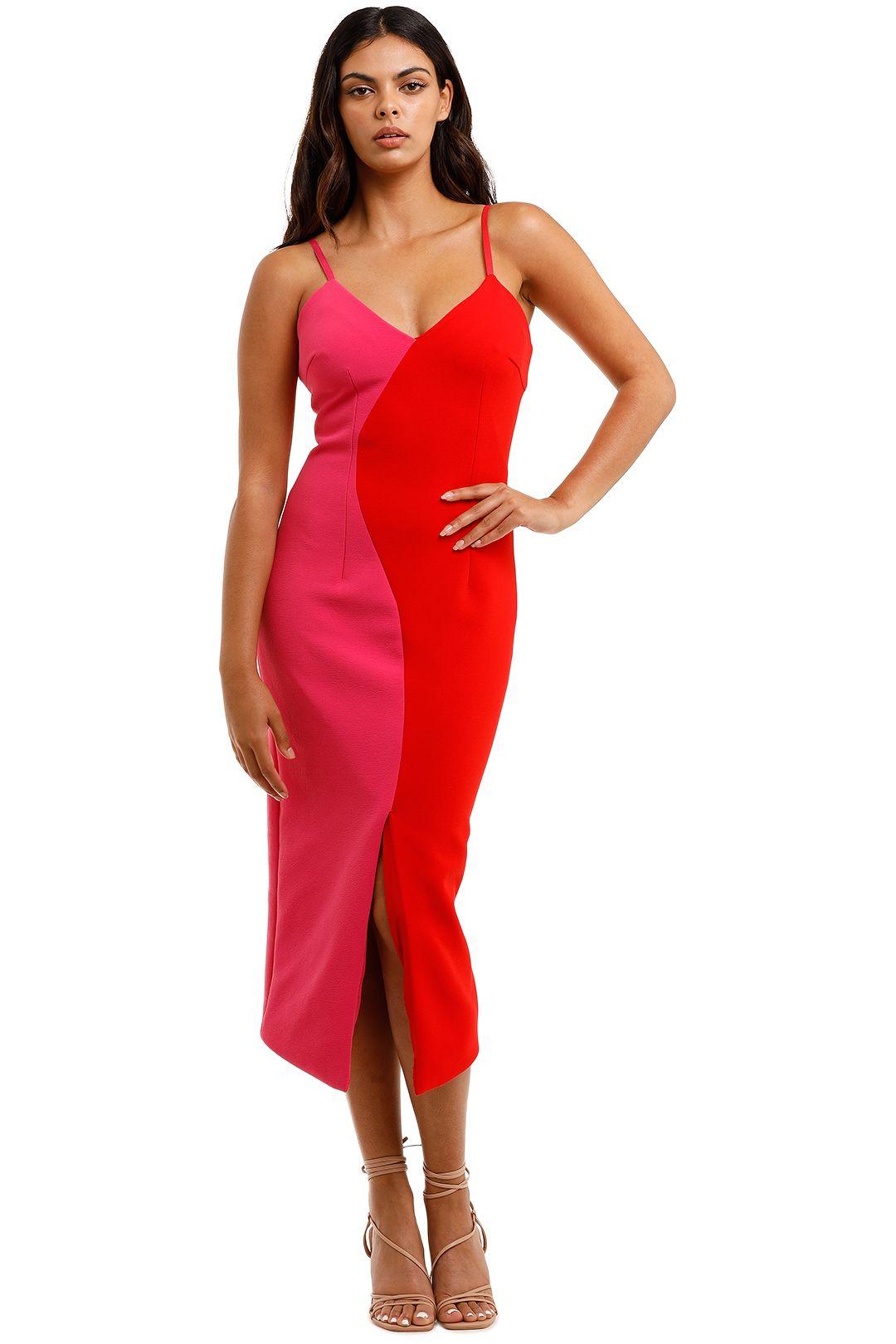 Elliatt Sydne Dress Fuschia bodycon