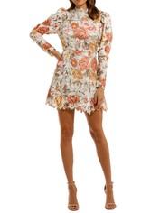 Elliatt Tessa Mini Dress long sleeve