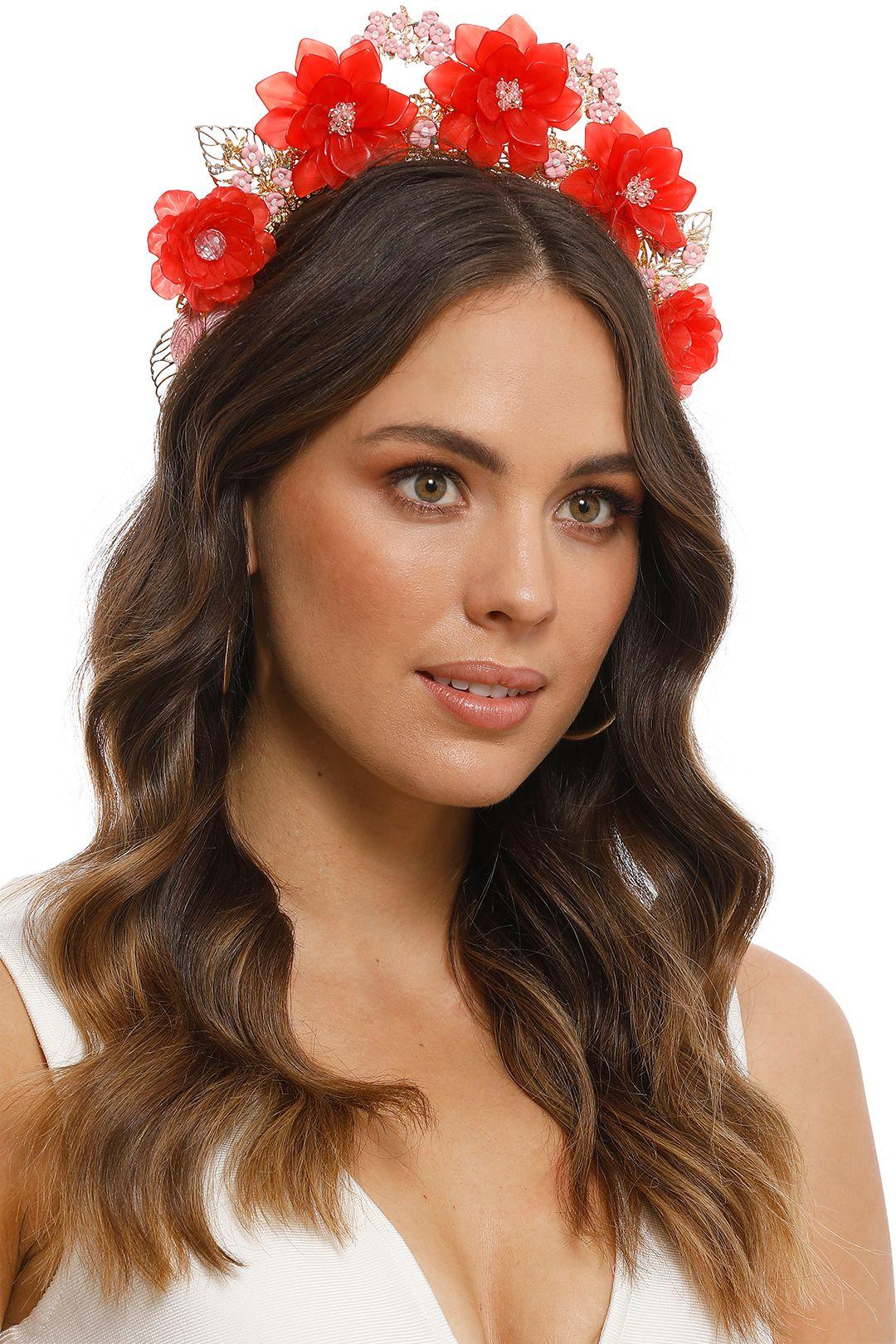Eve Til Dawn - Frida Crown - Red - Product