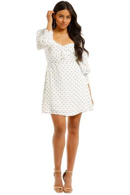 Faithfull-Arianne-Sleeve-Mini-Dress-Front