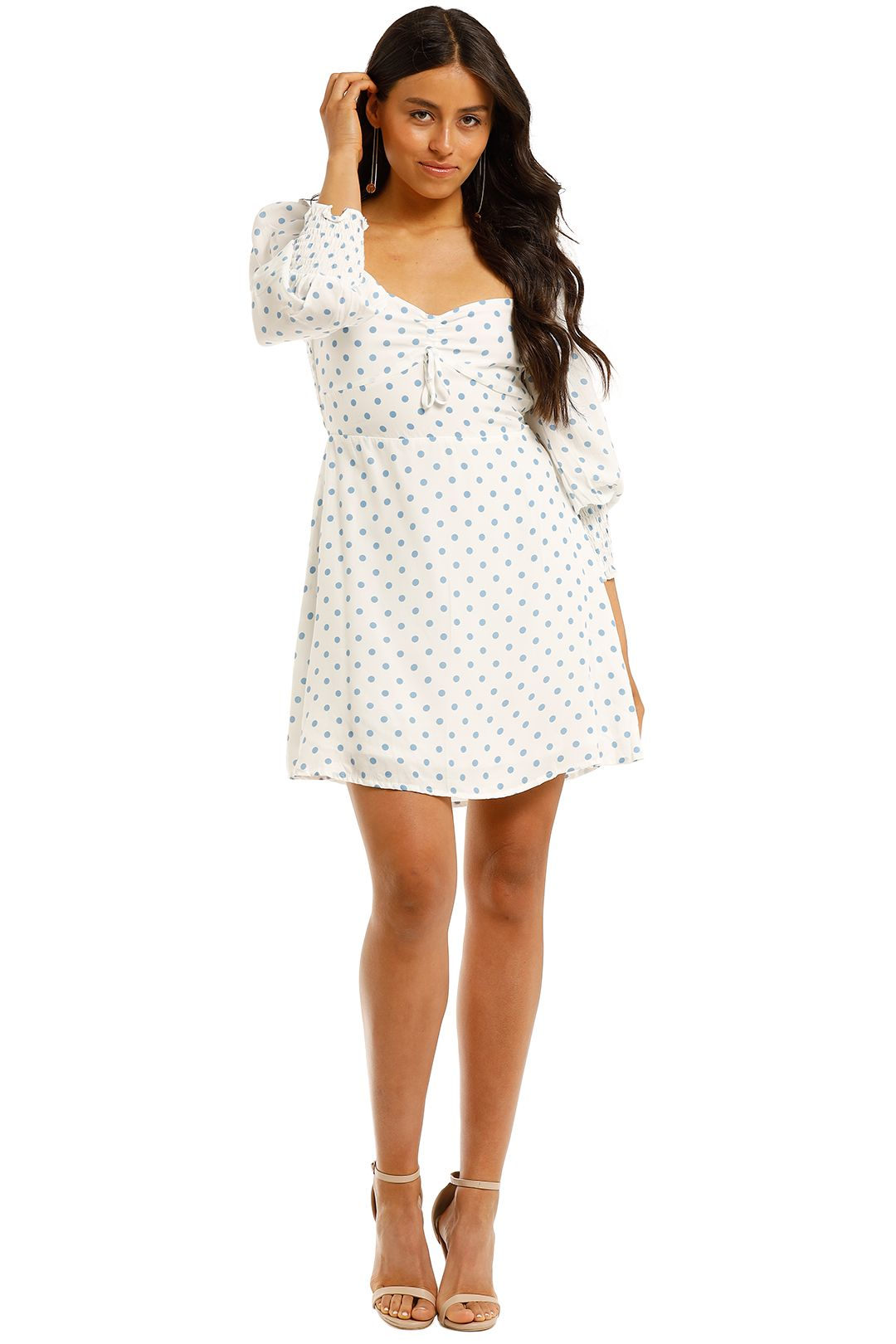 Faithfull-Arianne-Sleeve-Mini-Dress-Front
