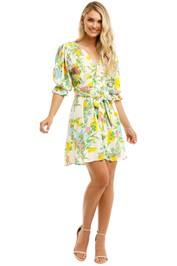 Faithfull-Caliente-Mini-Dress-Ilona-Floral-Print-Front