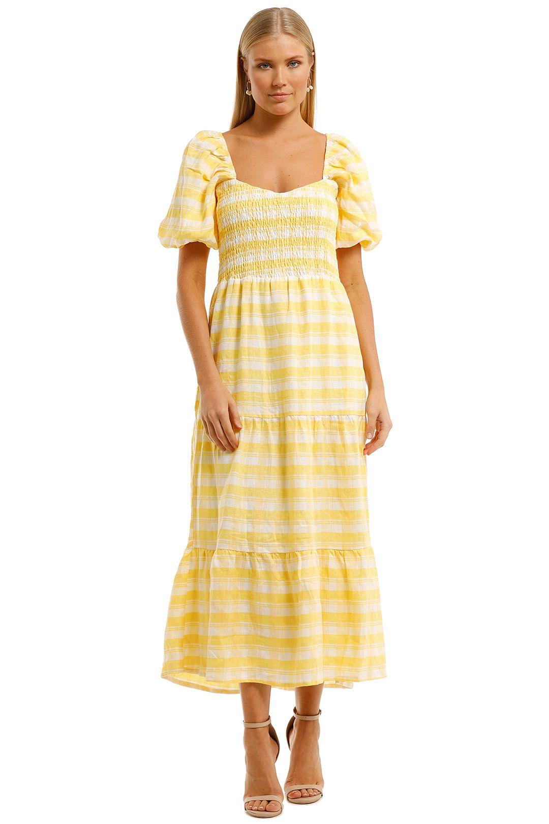Faithfull-Gianna-Short-Sleeve-Midi-Dress-Front