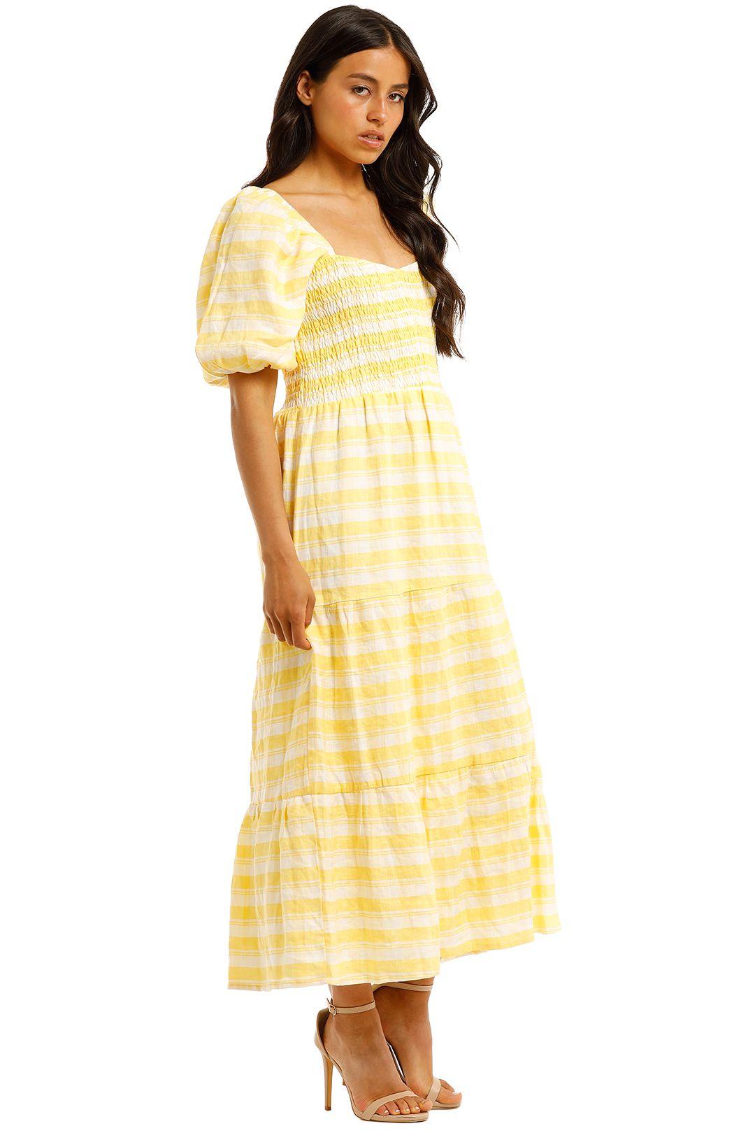 Faithfull-Gianna-Short-Sleeve-Midi-Dress-Side