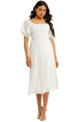 Faithfull-Lira-Short-Sleeve-Midi-Dress-Front