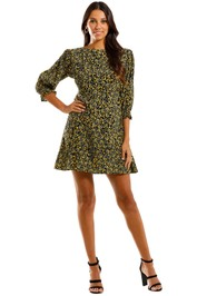 Faithfull Fontane Floral Mini Dress