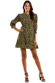 Faithfull Fontane Floral Mini Dress