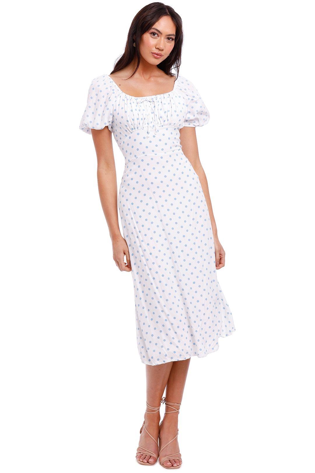 Faithfull Lira Short Sleeve Midi Dress