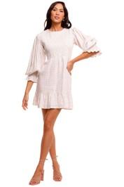 Faithfull Rosie Mini Dress white