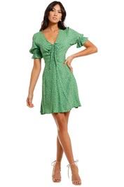 Faithfull Sage Mini Dress Evelina Floral