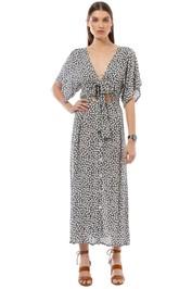 Faithfull the Brand - Magda Midi Dress - Azalea Print - Front