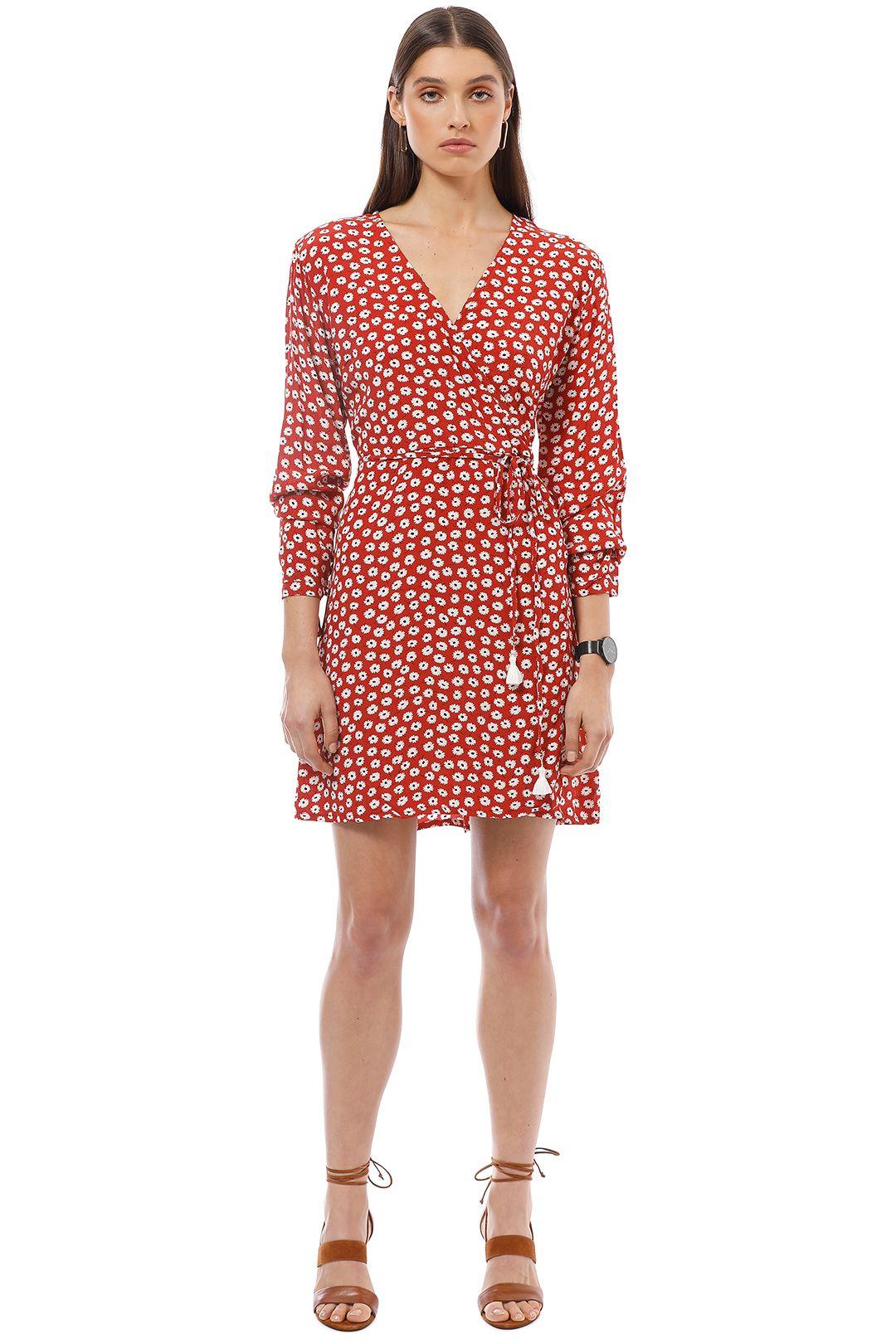 Faithfull the Brand - Poppy Dress - Red - Front