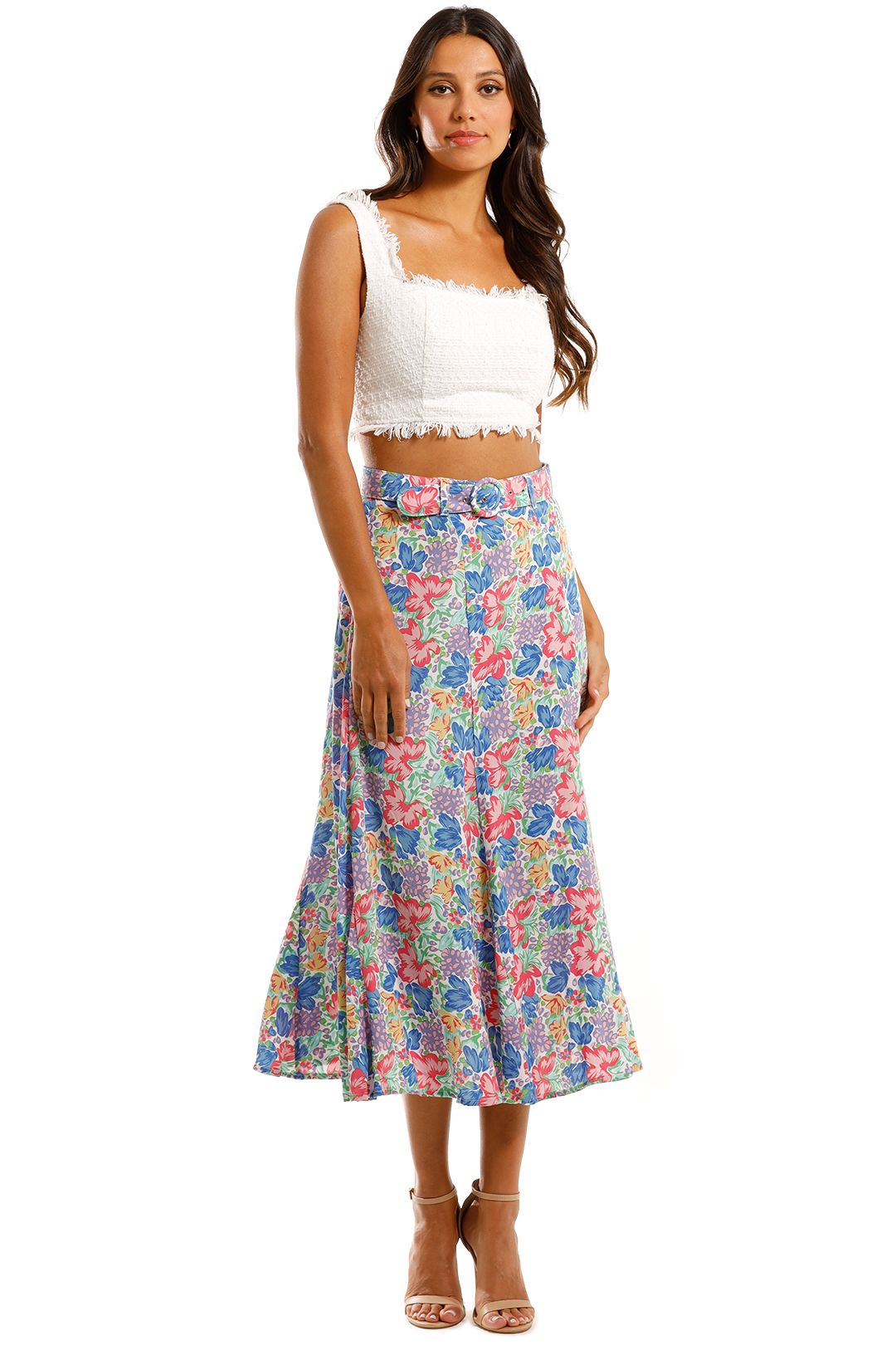 Faithfull Valensole Midi Skirt