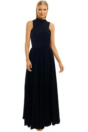 Fame-and-Partners-Tabitha-Dress-Black-Lace-Maxi-Dress-Front