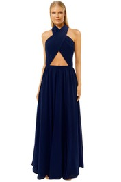 Fame-and-Partners-Wired-Heart-Navy-Maxi-Dress-Front