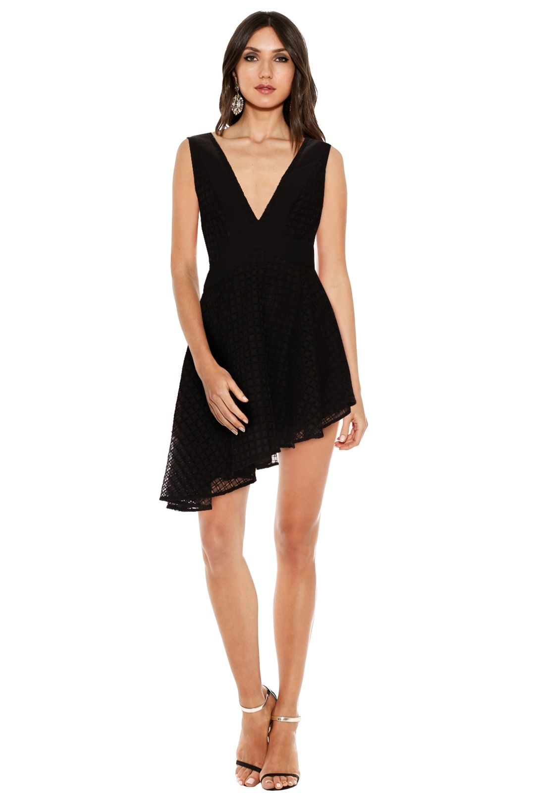 Finders Keepers - Begin Dress - Black - Front