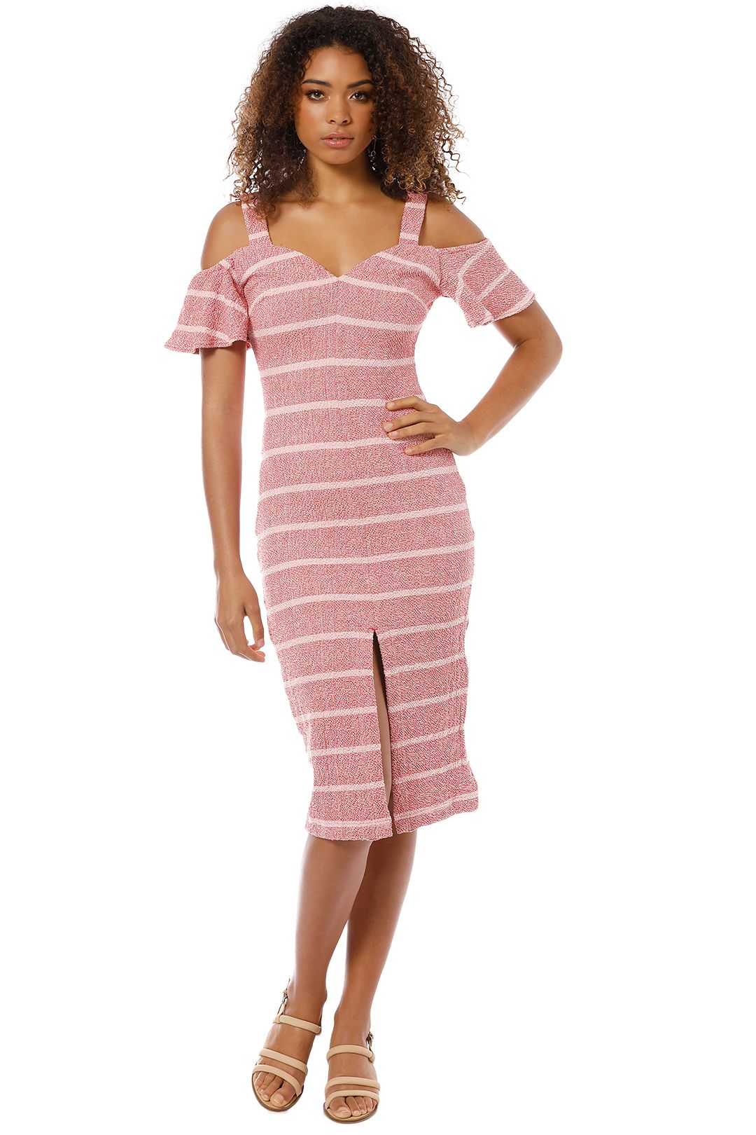 Finders Keepers - Destination Dress - Pink - Front