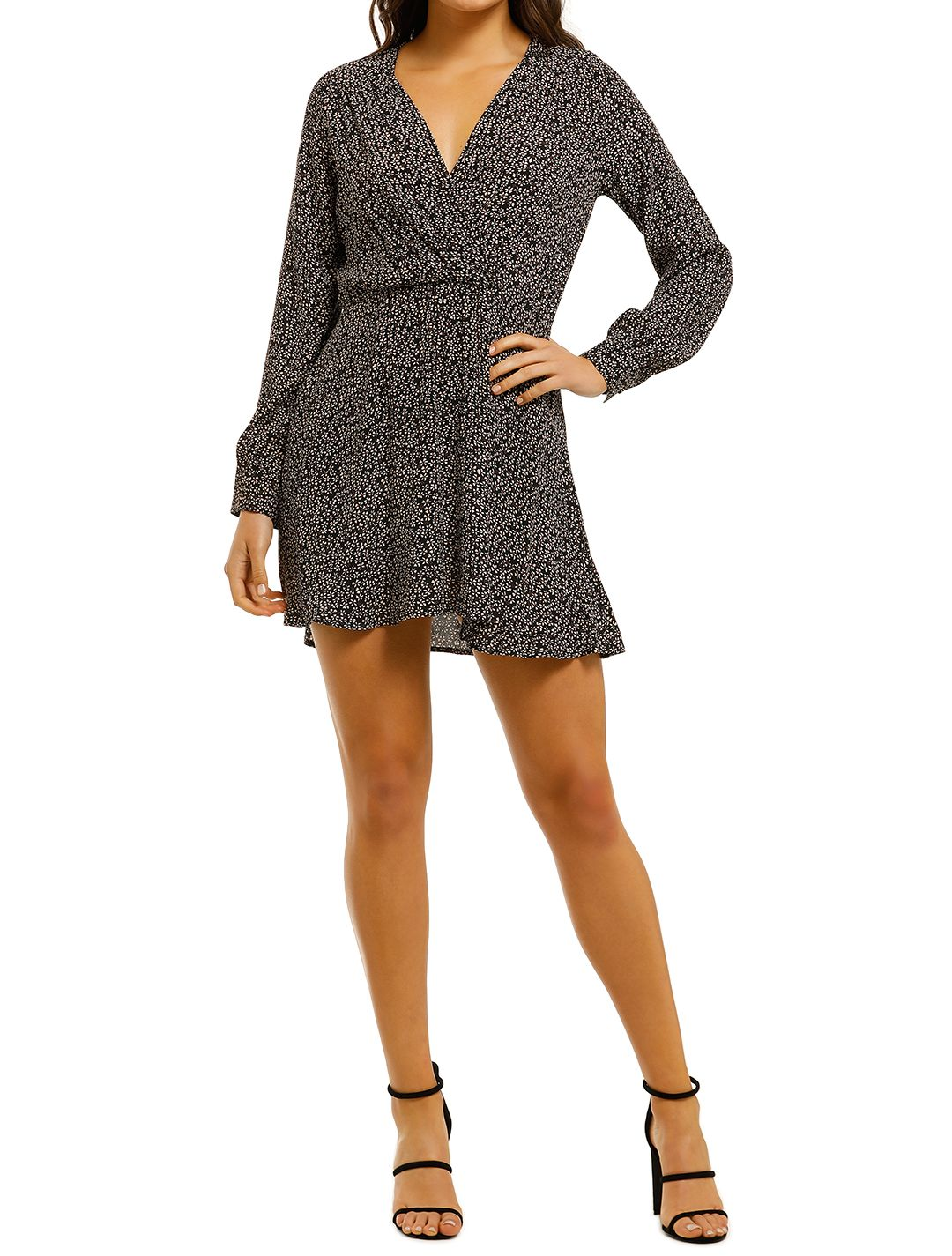 Flynn-Skye-Elle-Mini-Dress-Blush-Petals-Front