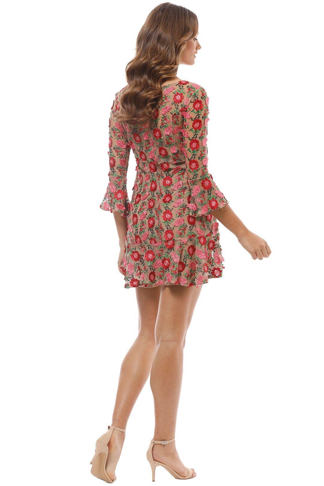 For Love & Lemons - Amelia Swing Dress - Back