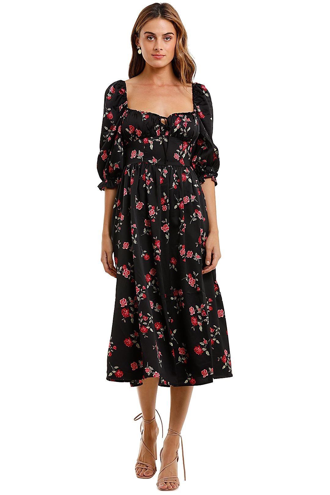 For Love and Lemons Rosie Maxi Dress