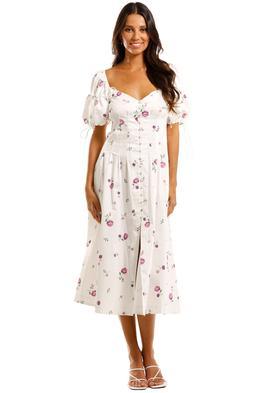 For Love and Lemons - Violet Midi Dress