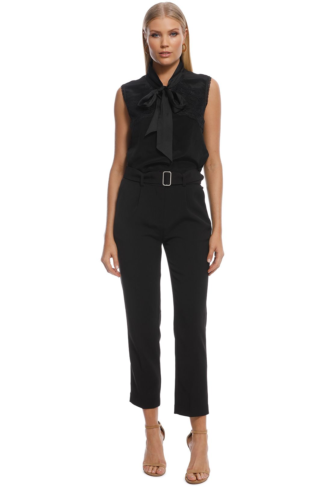 Friend of Audrey - Joseph Trousers - Black - Front