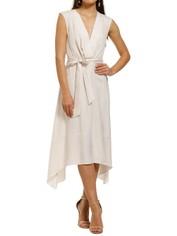 FWRD-The-Label-Leah-Dress-Cream-Front