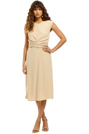FWRD-the-Label-Perry-Dress-Sand-Front