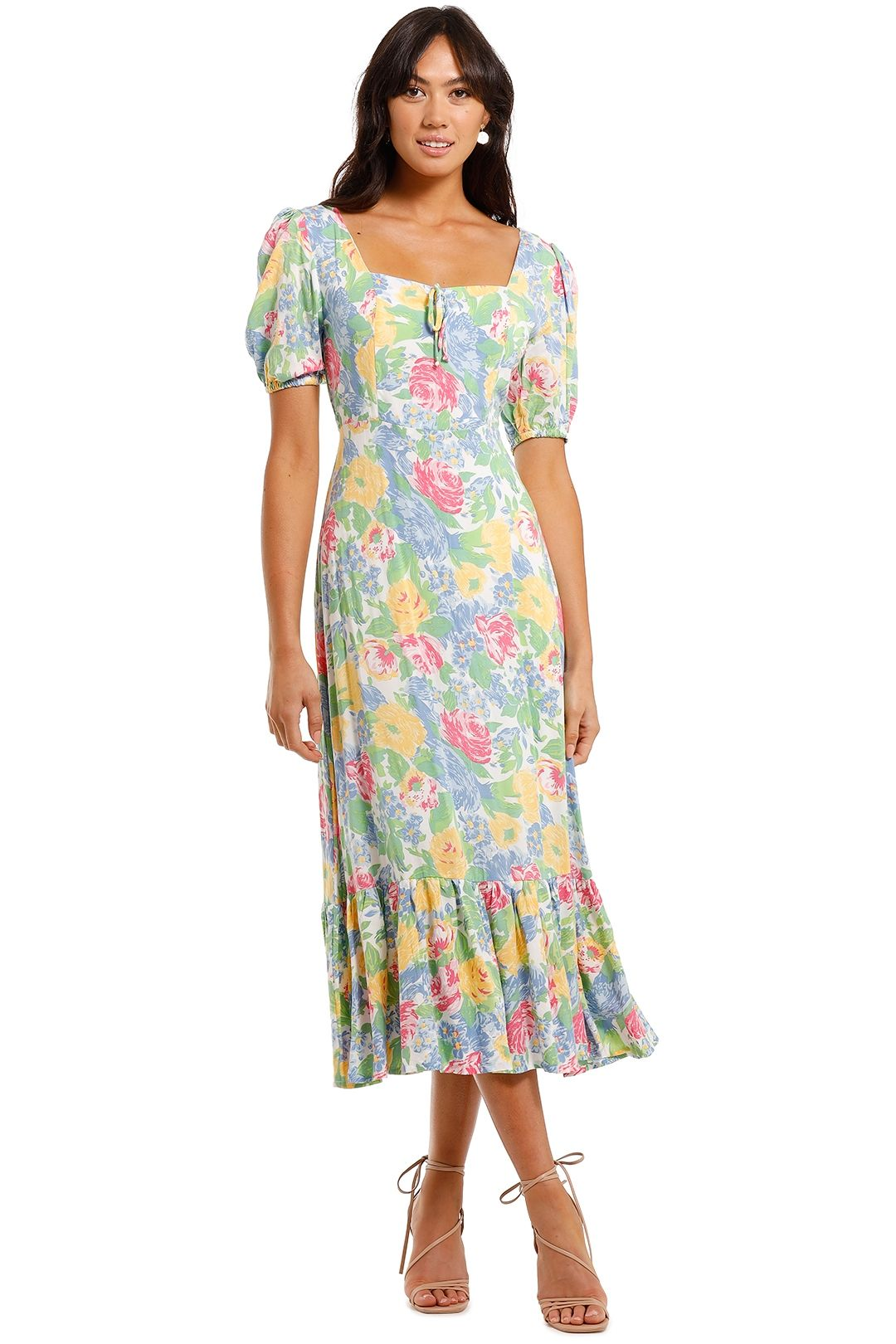 Gabriela Midi Dress Traina Floral