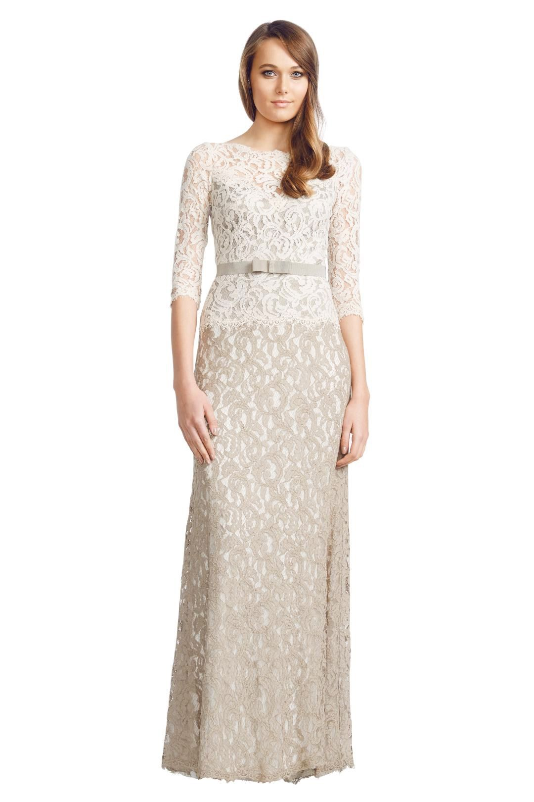 George - Arianne Gown - Cream - Front