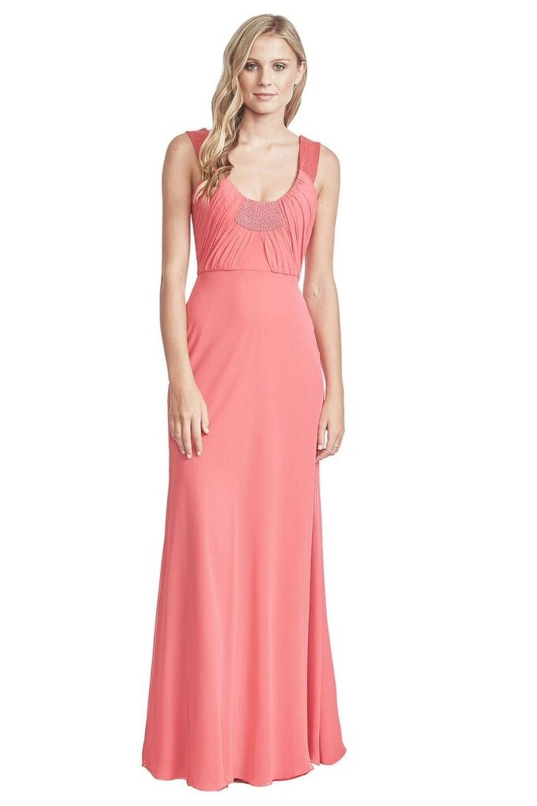 George - Gwen Gown - Pink - Front