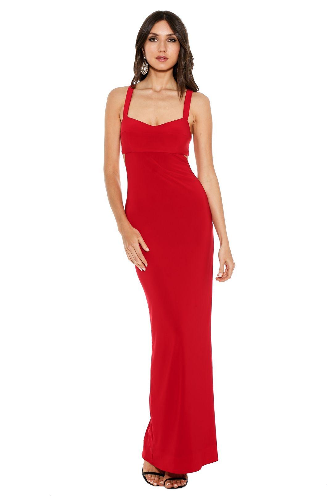 George - Jamelia Dress - Red - Front