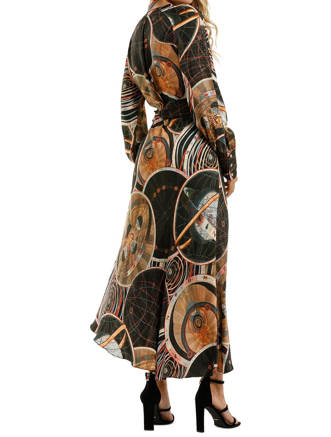 Ginger-and-Smart-Astrology-Wrap-Dress-Black-Back