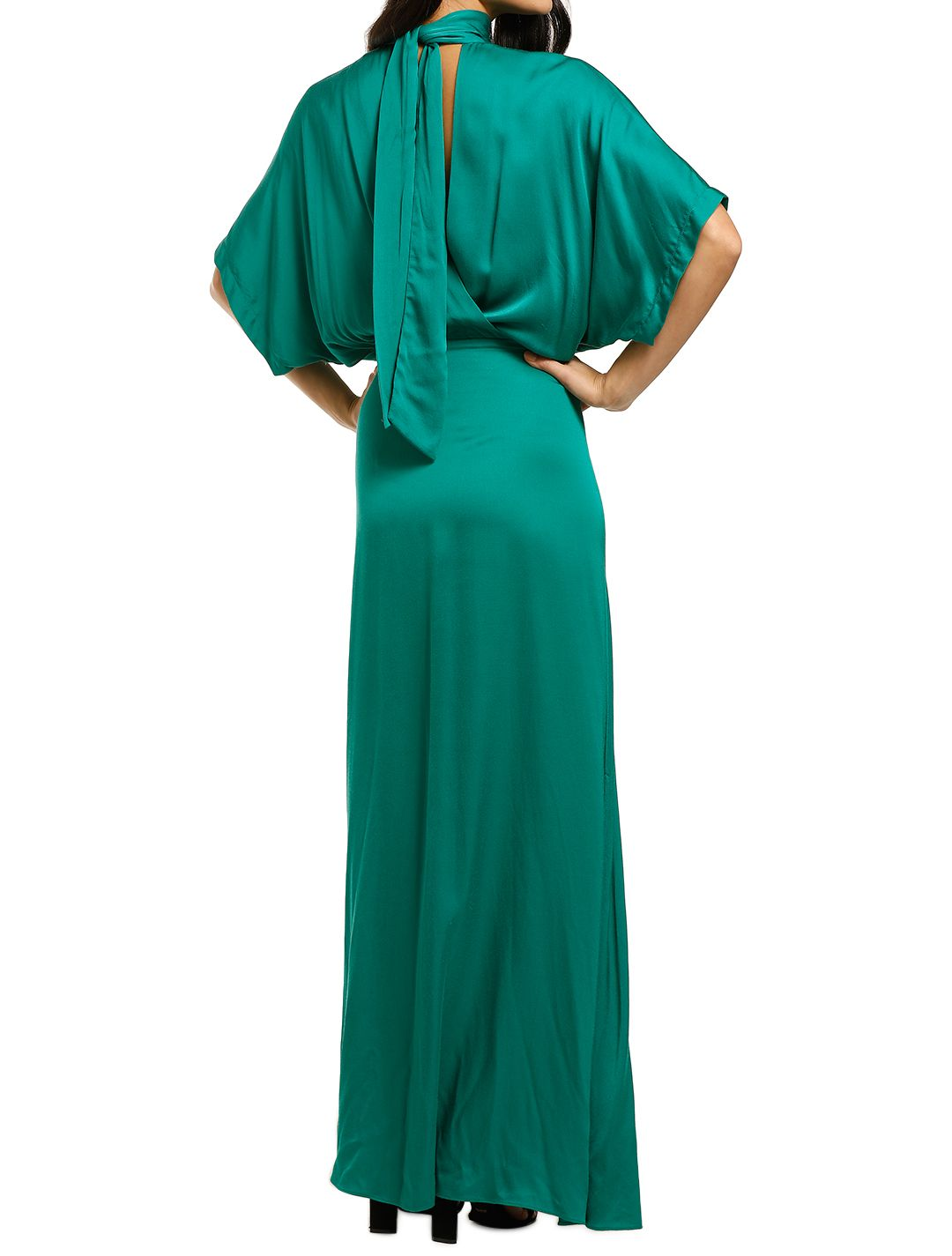Ginger-and-Smart-Bliss-Gown-Jade-Green-Back