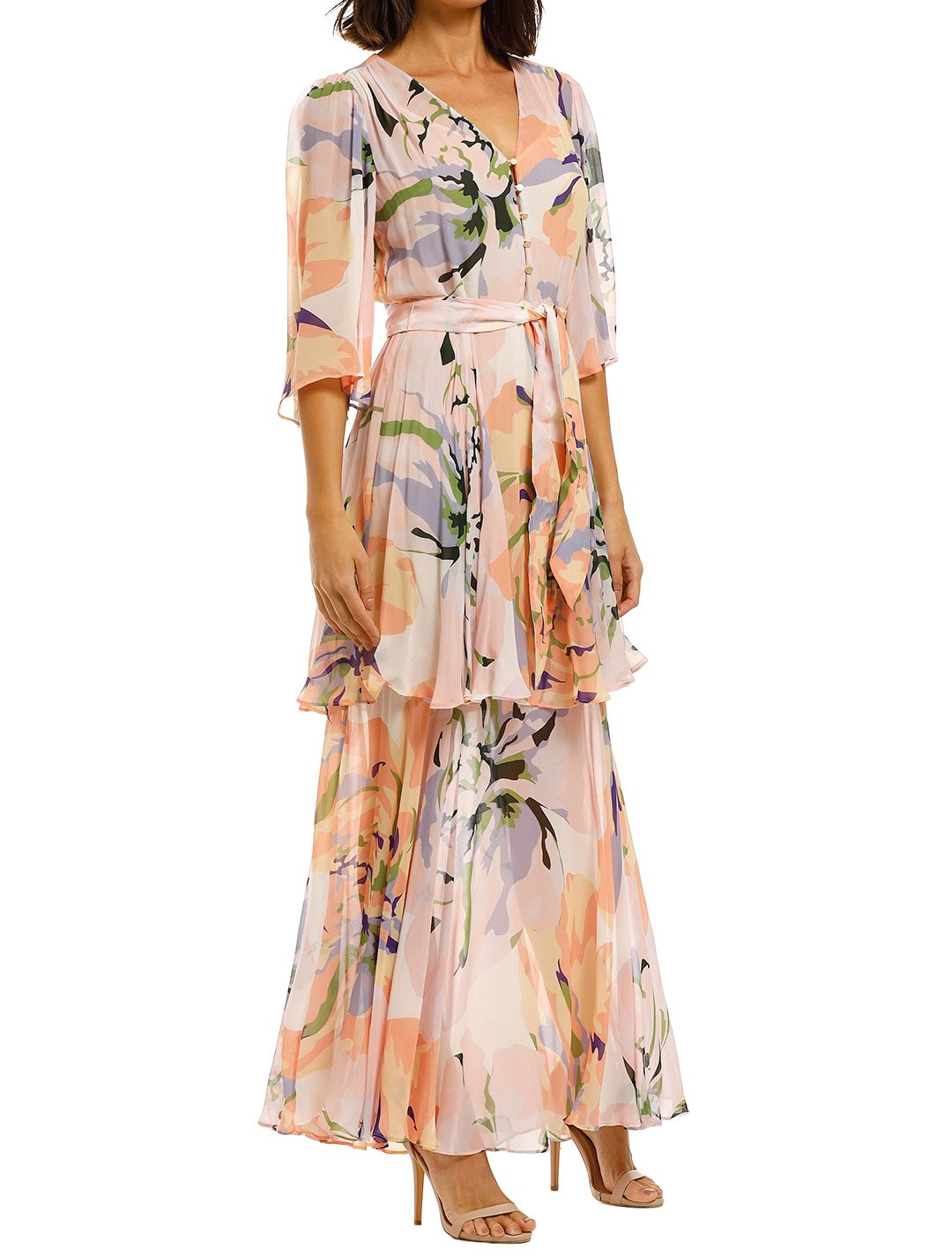 Ginger-and-Smart-Delirium-Gown-Lilac-Side