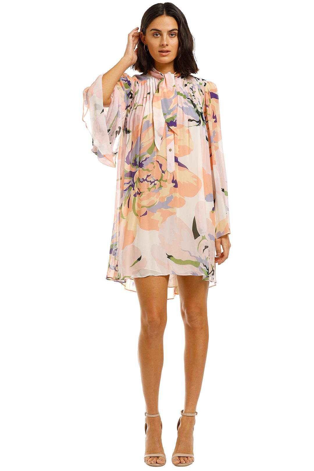 Ginger-and-Smart-Delirium-Mini-Dress-Lilac-Front