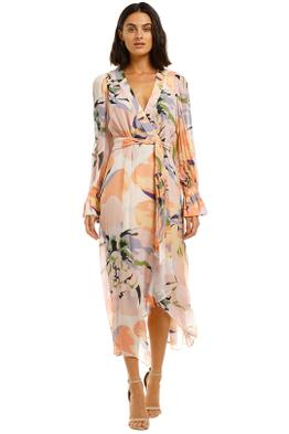 Ginger-and-Smart-Delirium-Wrap-Dress-Lilac-Front