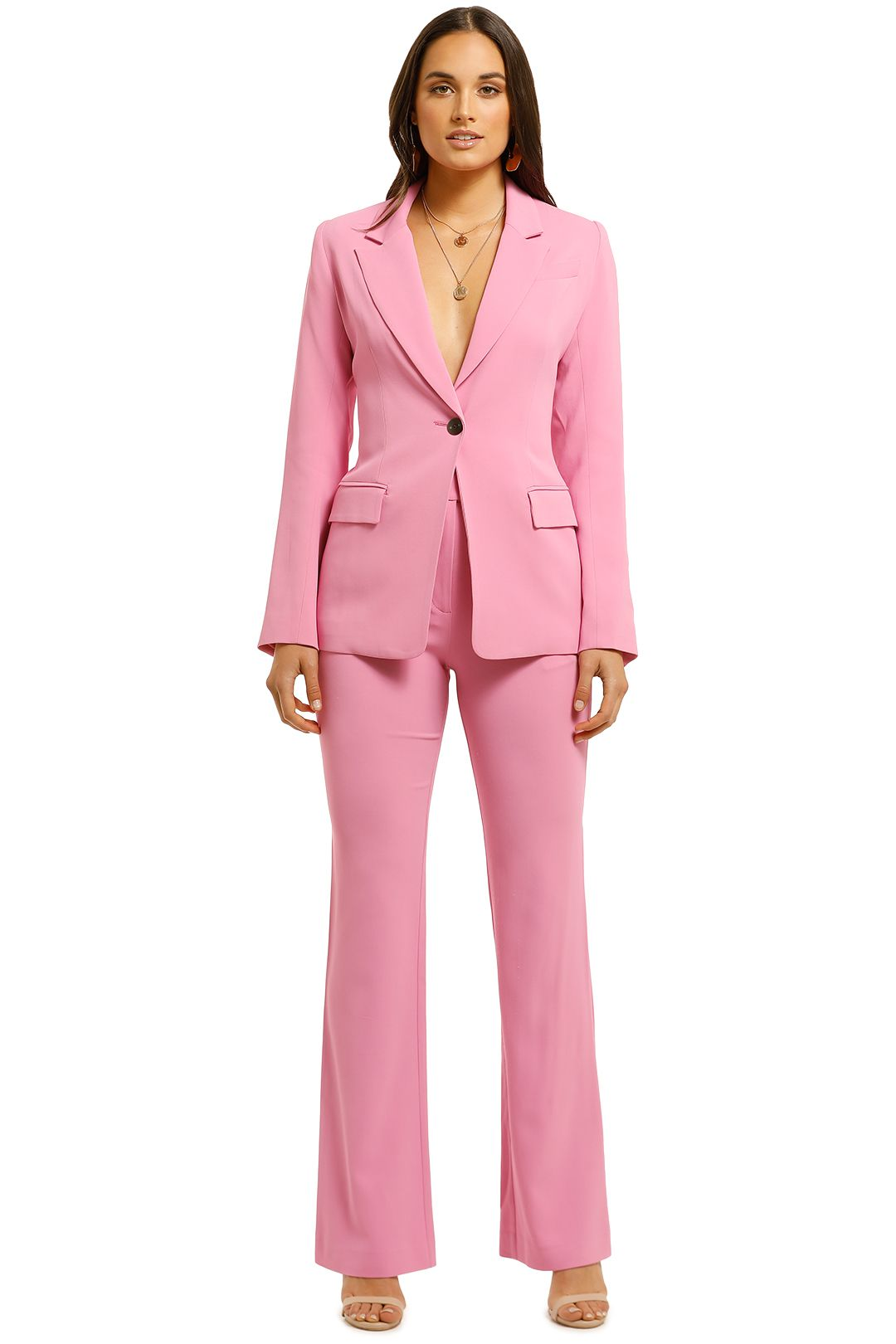 Ginger-and-Smart-Elixer-Jacket-and-Pant-Set-Passion-Pink-Front