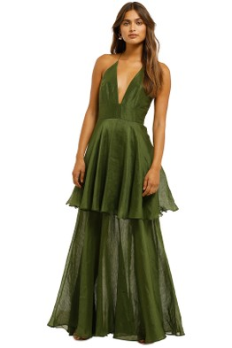 Ginger & Smart - Eminence Gown - Pine