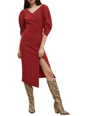 Ginger-and-Smart-Equinox-Dress-Scarlet-Red-Side
