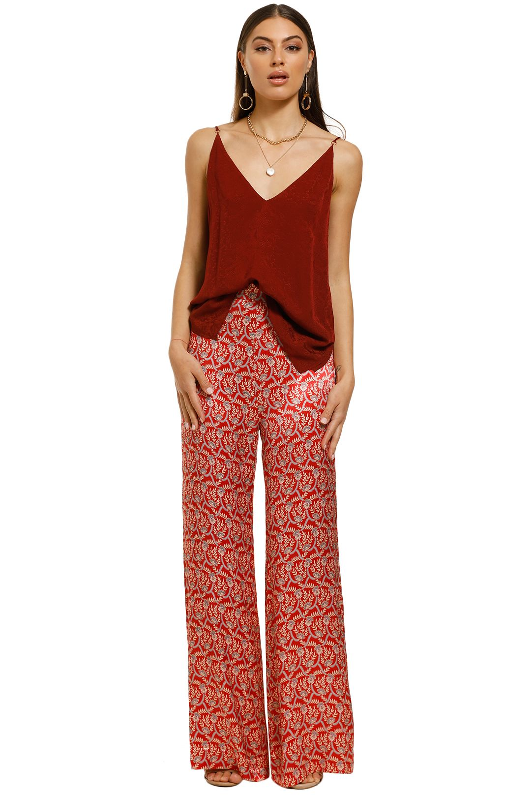 Ginger-and-Smart-Panacea-Cami-Rust-Front