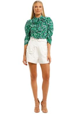 Ginger-and-Smart-Regenerate-Blouse-Green-Floral-Front